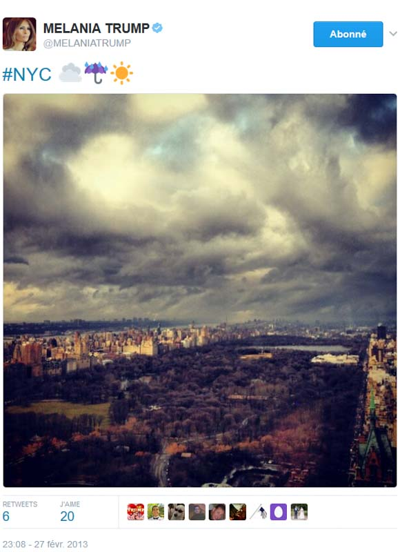 NYC depuis la Trump Tower