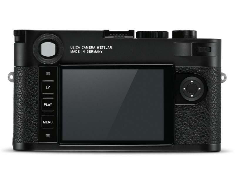 Leica M10 rear
