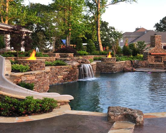 Eads Natural Pool Backyard Resort