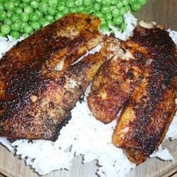 Herbs And Spices – Cajun Style Blackened Snapper