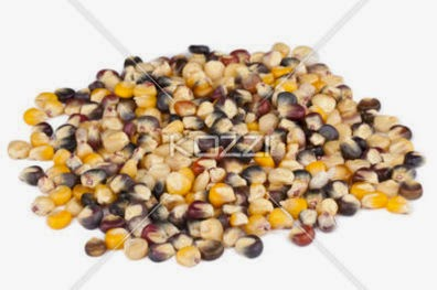 Heap Of Corn Beans