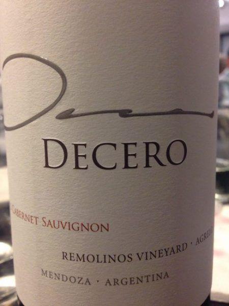 Decero Cabernet Sauvignon 2013