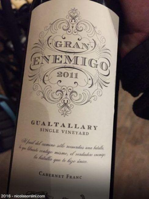 Gran Enemigo Gualtallary