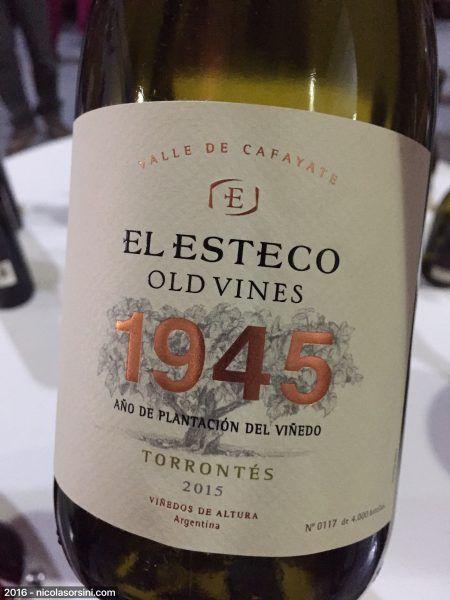 Old Vines Torrontés 2015