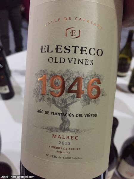 Old Vines Malbec 2015