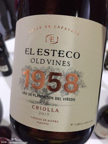 Old Vines Criolla 2015