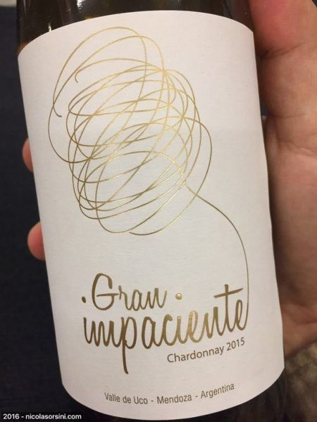 Gran Impaciente Chardonnay 2015