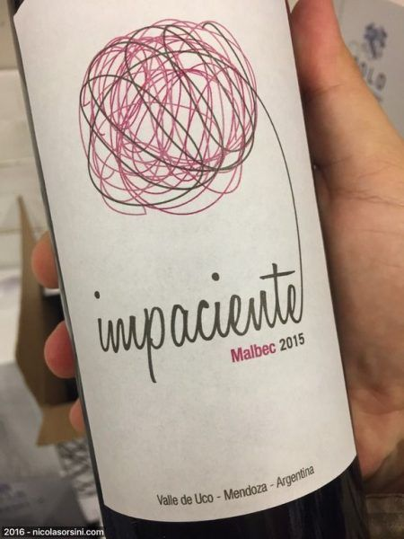 Impaciente Malbec 2015