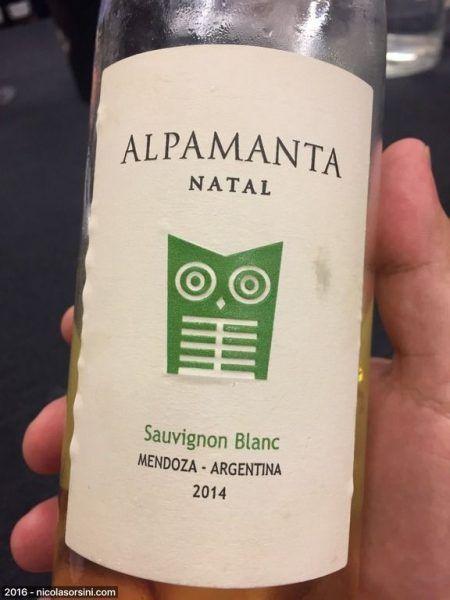 Alpamanta  Natal Sauvignon Blanc 2014