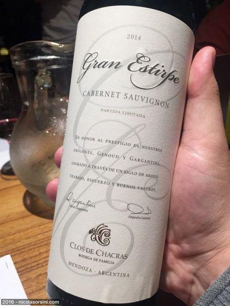 Clos de Chacras Gran Estirpe Cabernet Sauvignon 2014