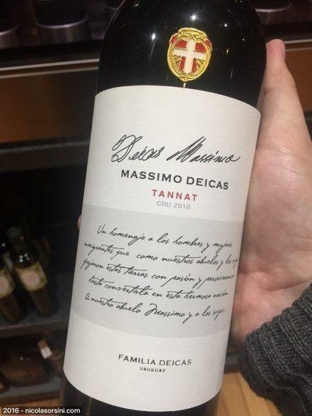Massimo Dicas Tannat Cru 2010