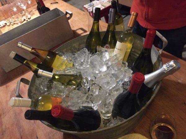 Frappera de vinos blancos