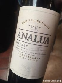Analua Gualtallary