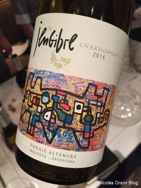 Jengibre Chardonnay 2016