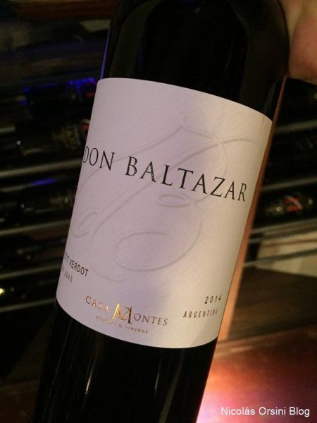 Don Baltazar Petit Verdot 2014