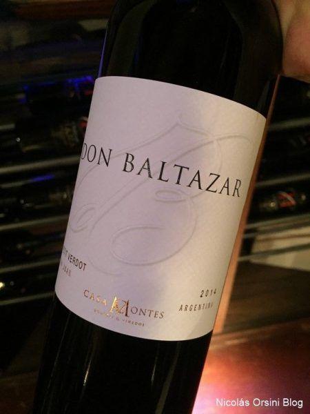 Don Baltazar Petit Verdot 2014