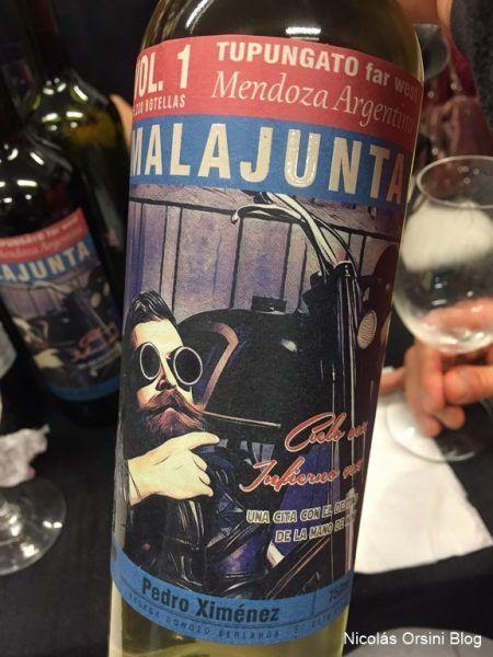 Malajunta Wines Pedro Ximénez