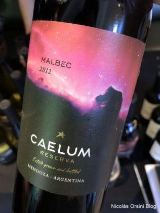 Caelum Reserva Malbec 2012