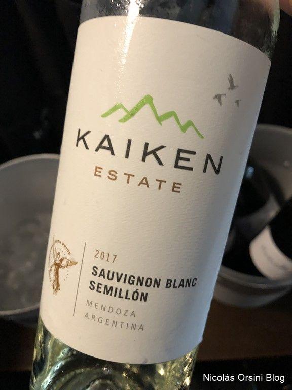 Kaiken Estate Sauvignon Blanc - Semillòn 2017