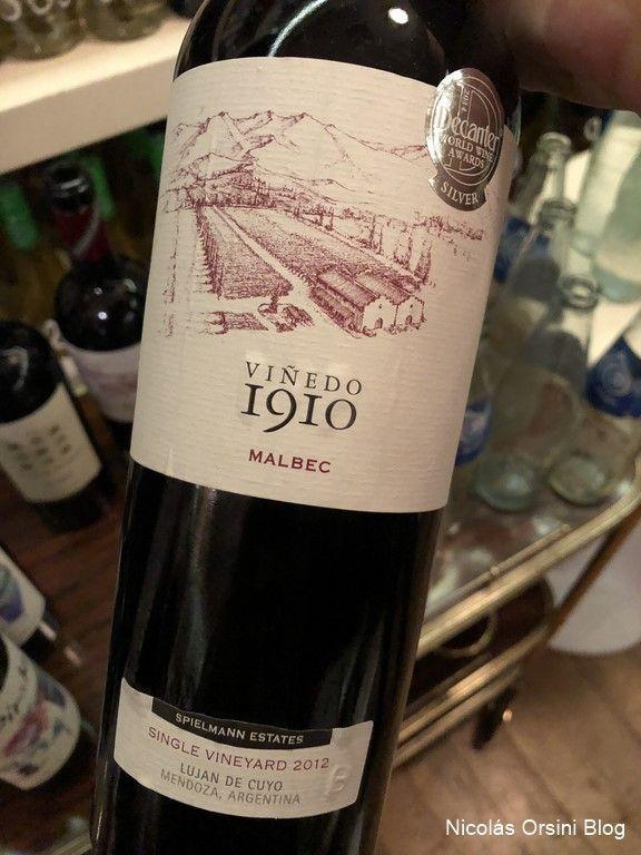 Viñedo 1910 2012