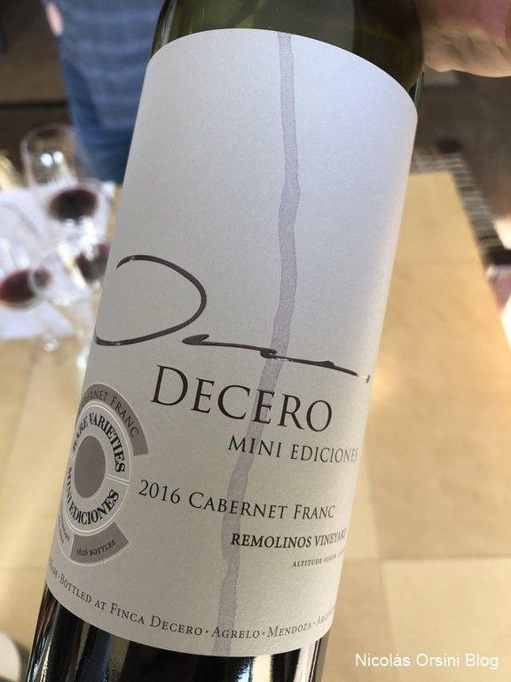 Decero Mini Ediciones Cabernet Franc 2016