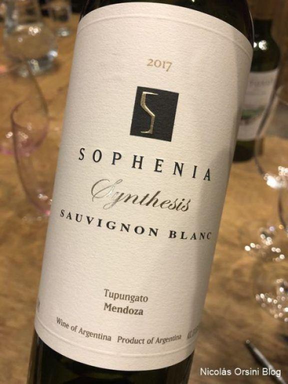 Sophenia Síntesis Sauvignon Blanc 2017