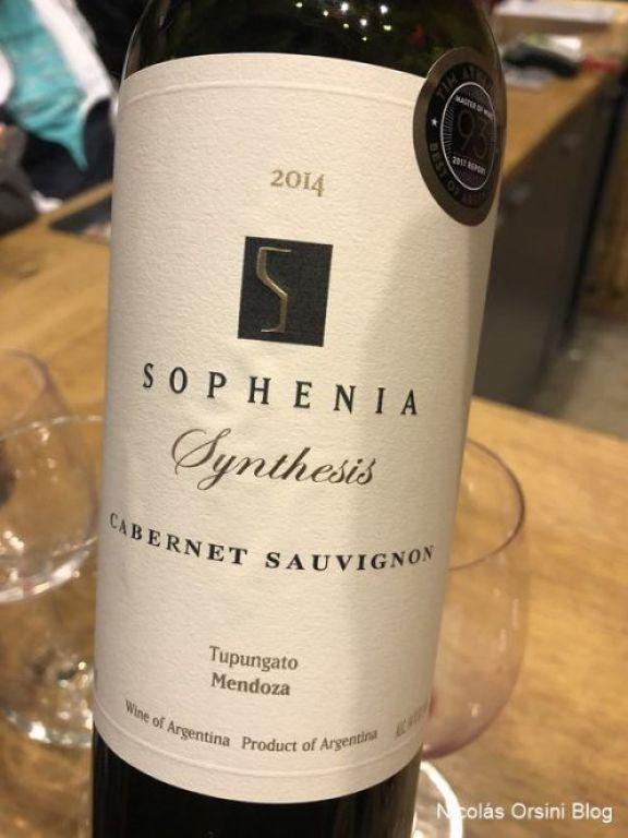 Finca Sophenia Synthesis Cabernet Sauvignon 2014