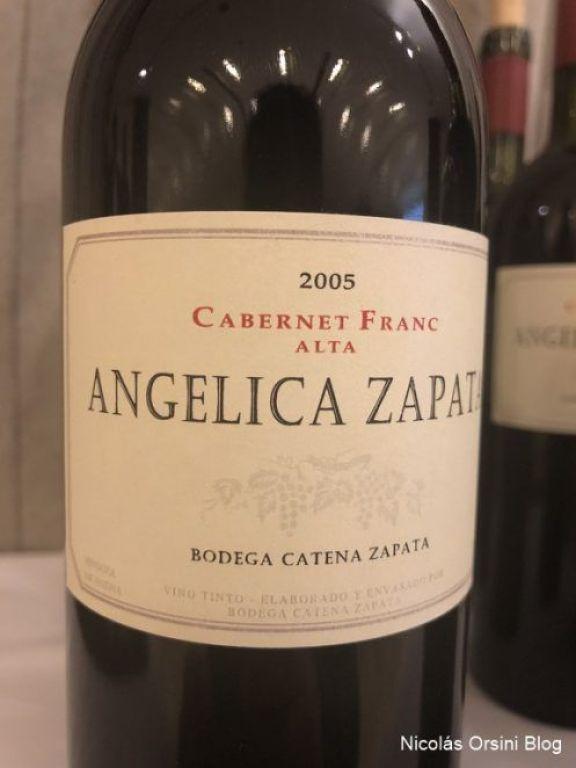 Angélica Zapata Cabernet Franc 2005