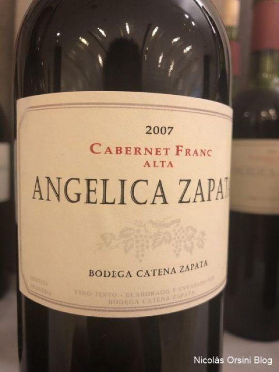 Angélica Zapata Cabernet Franc 2007