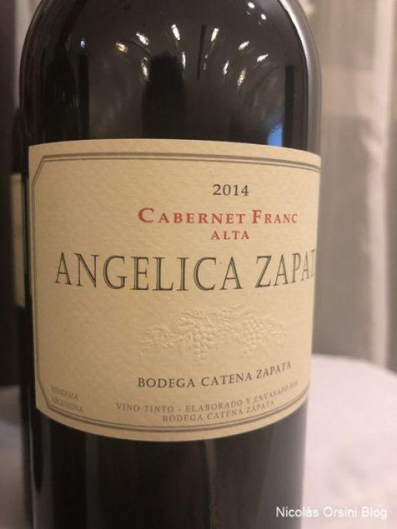 Angélica Zapata Cabernet Franc 2014