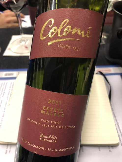 Colomé Estate Malbec 2011