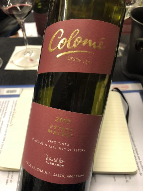 Colomé Estate Malbec 2012