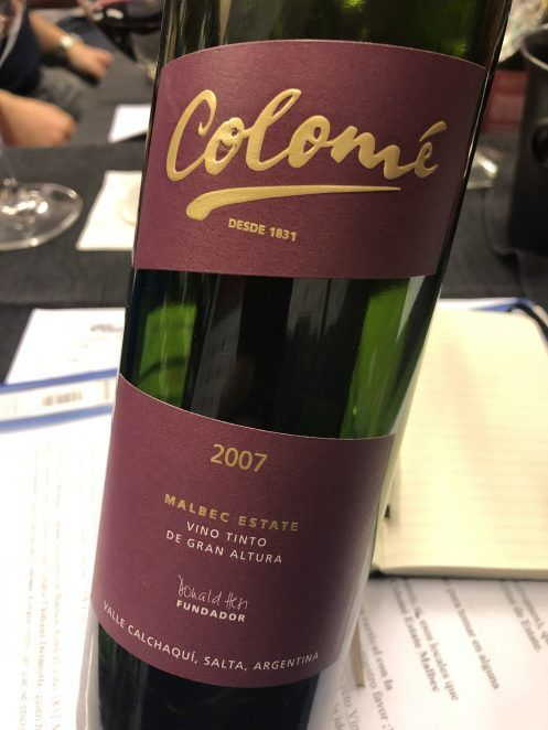 Colomé Estate Malbec 2007