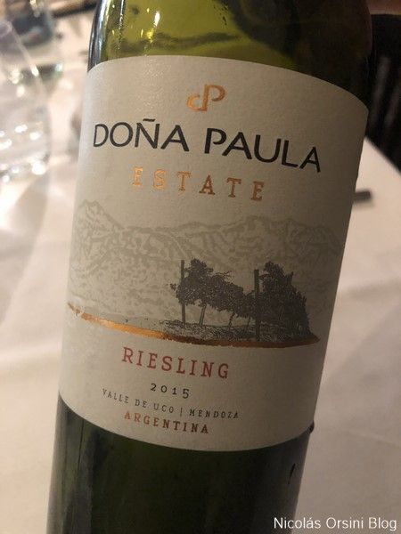 Doña Paula Estate Riesling 2015