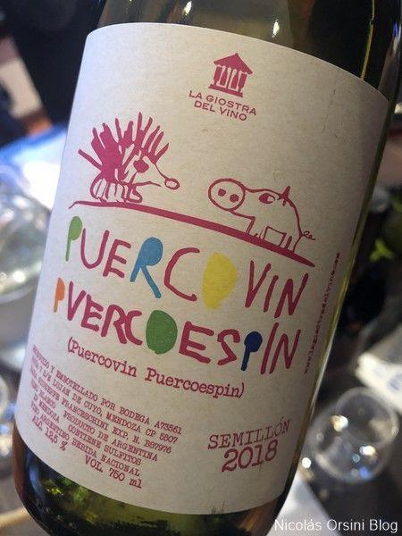 Puercovin Puercoespin Semillón 2018