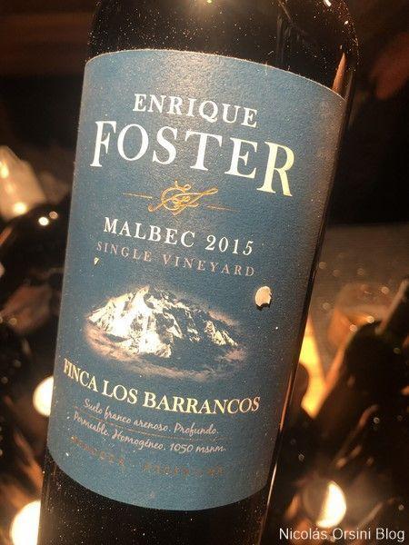 Enrique Foster Malbec 2015 Finca Los Barrancos