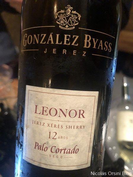 González Byass Leonor Palo Cortado