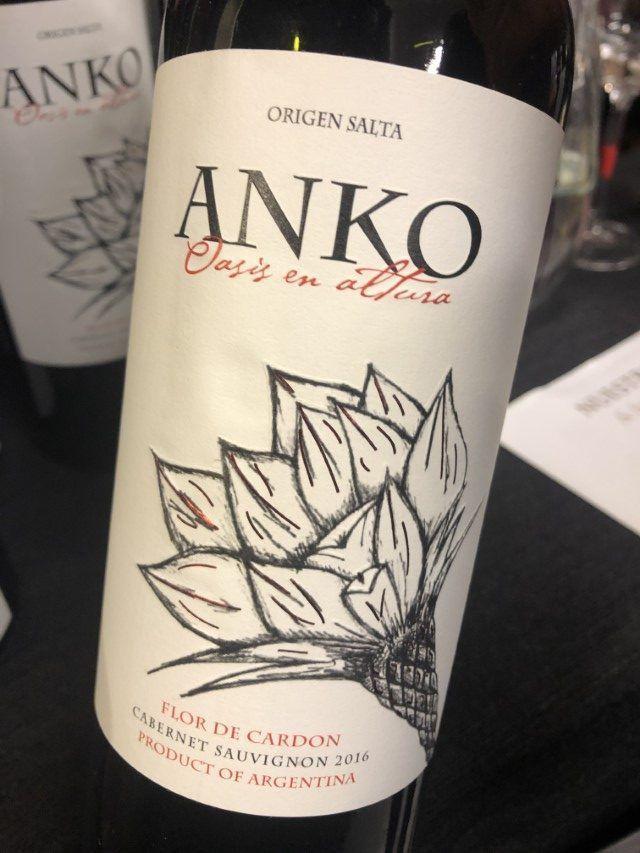 Anko Cabernet Sauvignon 2016