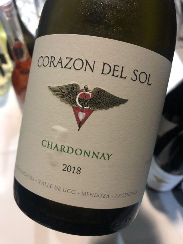 Corazón del Sol Chardonnay 2018