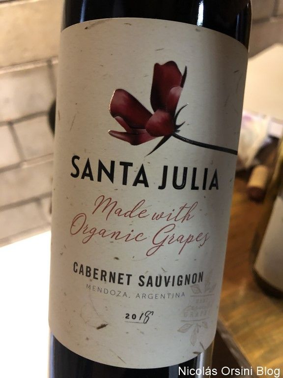 Santa Julia Orgánica Cabernet Sauvignon 2019