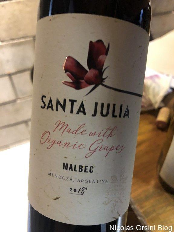 Santa Julia Orgánica Malbec 2019