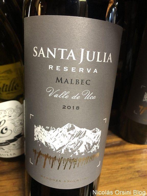 Santa Julia Reserva Malbec 2018