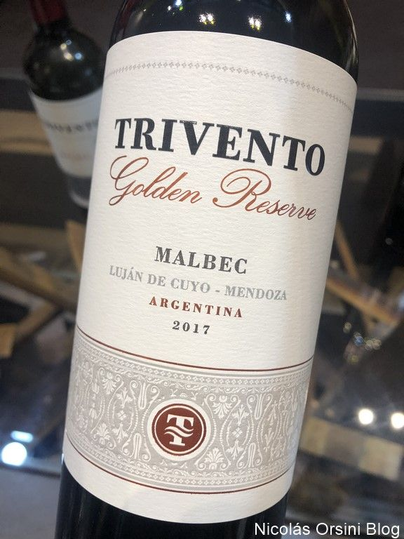 Trivento Golden Reserve Malbec 2017