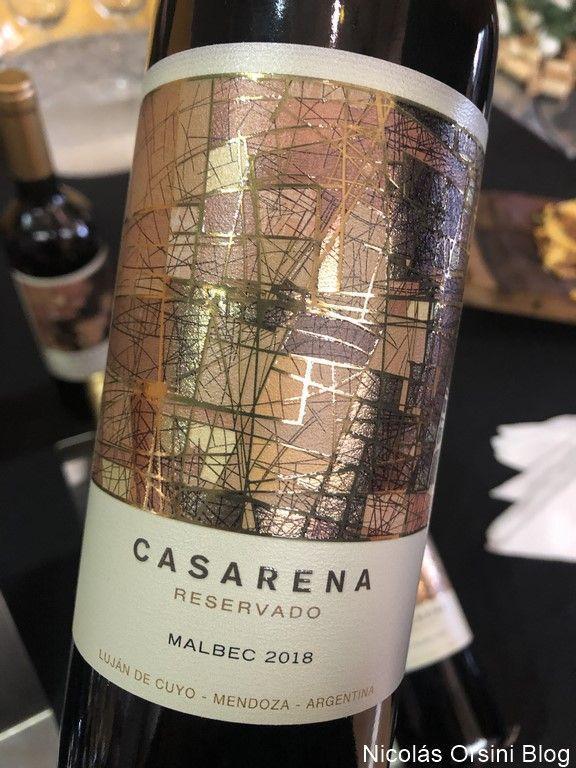 Casarena Reservado Malbec 2018