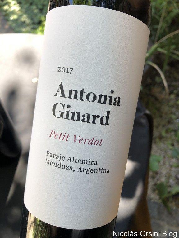 Antonia Ginanard Petit Verdot 2017