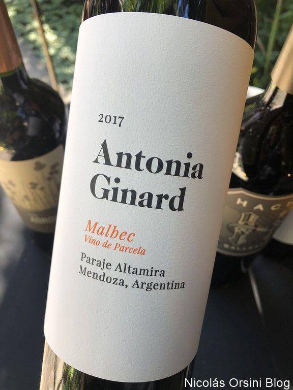 Antonia Ginard Malbec de Parcela 2017