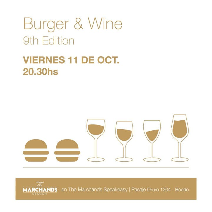Burger And Wine en Wine Marchands