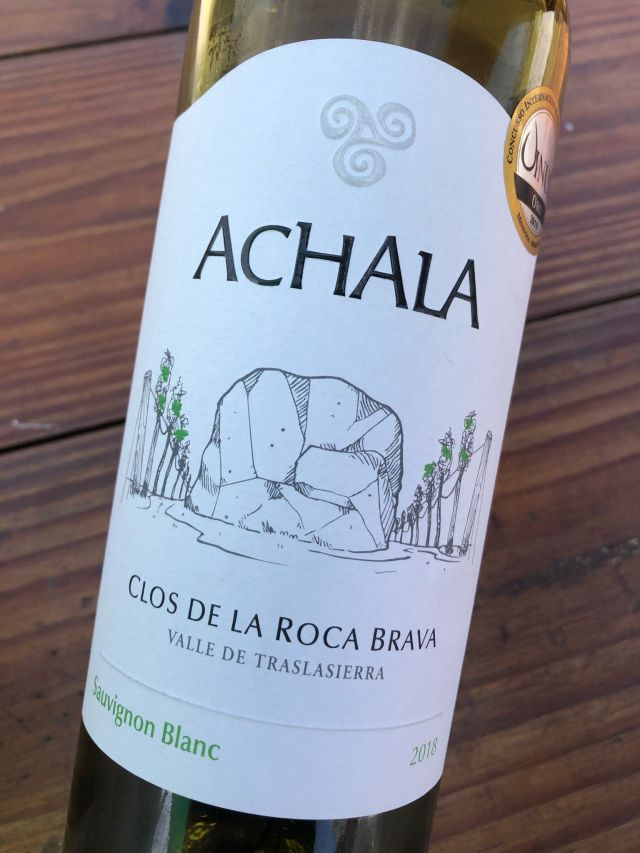 Achala Sauvignon Blanc 2018