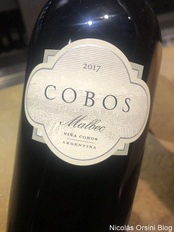 Cobos Malbec 2017