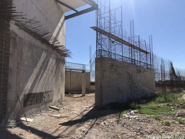 Construcción de la bodega Anaia Wines